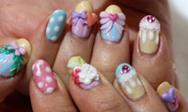 3D Nail Art Courses by Gemma Lambert