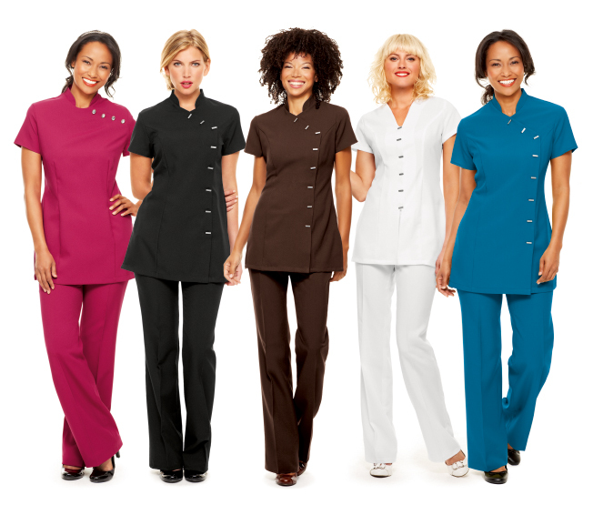 Should your salon staff be wearing a uniform next step for Uniform spa salon